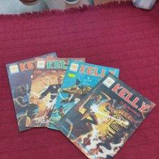 Cómics: KELLY OJO MAGICO NUMEROS:12,3 Y 4 MUNDICOMIC EDICIONES VERTICE 1981. Lote 217033616