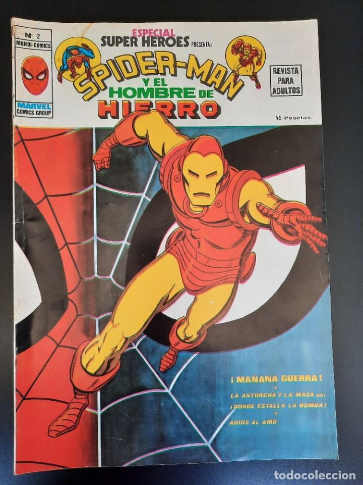 SUPER HEROES (1976, VERTICE) -ESPECIAL- 2 · 1976 · MAÑANA GUERRA (Tebeos y Comics - Vértice - Super Héroes)