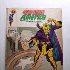Cómics: CAPITAN AMERICA Nº 33 ATACA ZARPA AMARILLA .- EDICIONES VERTICE 1973. Lote 217045193