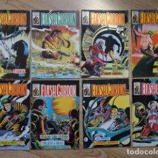 Cómics: LOTE 8 FLASH GORDON COMICS ART VOL 1 Nº 43 VOL 2 Nº 8 11 12 25 27 29 Y 32 EURAN NOVATO VERTICE. Lote 217206907