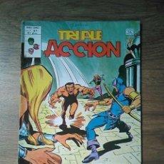 Cómics: TRIPLE ACCIÓN - LA MASA - VÉRTICE V 1 - N 5. Lote 217248857