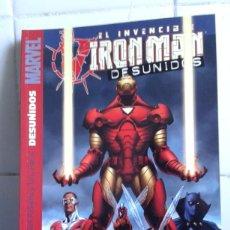 Cómics: EL INVENCIBLE IRON MAN DESUNIDOS, PANINI COMICS, BUEN ESTADO. Lote 217370967