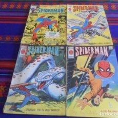 Cómics: VÉRTICE VOL. 3 SPIDERMAN NºS 37 48 49 58. 1978. 50 PTS. BUEN PRECIO.. Lote 217398438