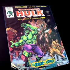 Cómics: DE KIOSCO THE RAMPAGING HULK 13 VERTICE. Lote 217411713
