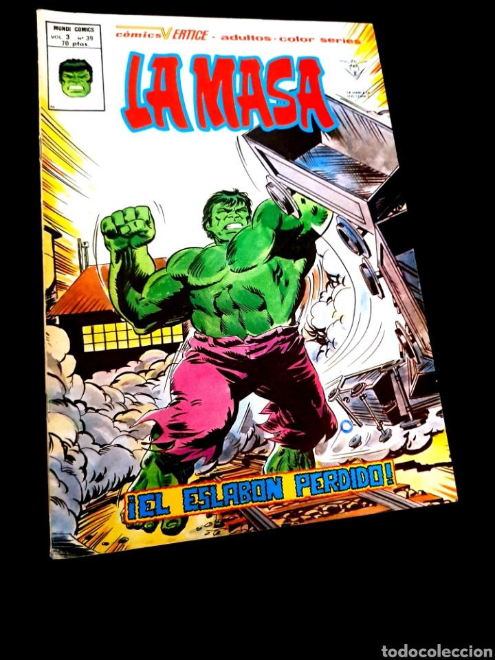 MUY BUEN ESTADO LA MASA 39 VOL III VERTICE (Tebeos y Comics - Vértice - La Masa)
