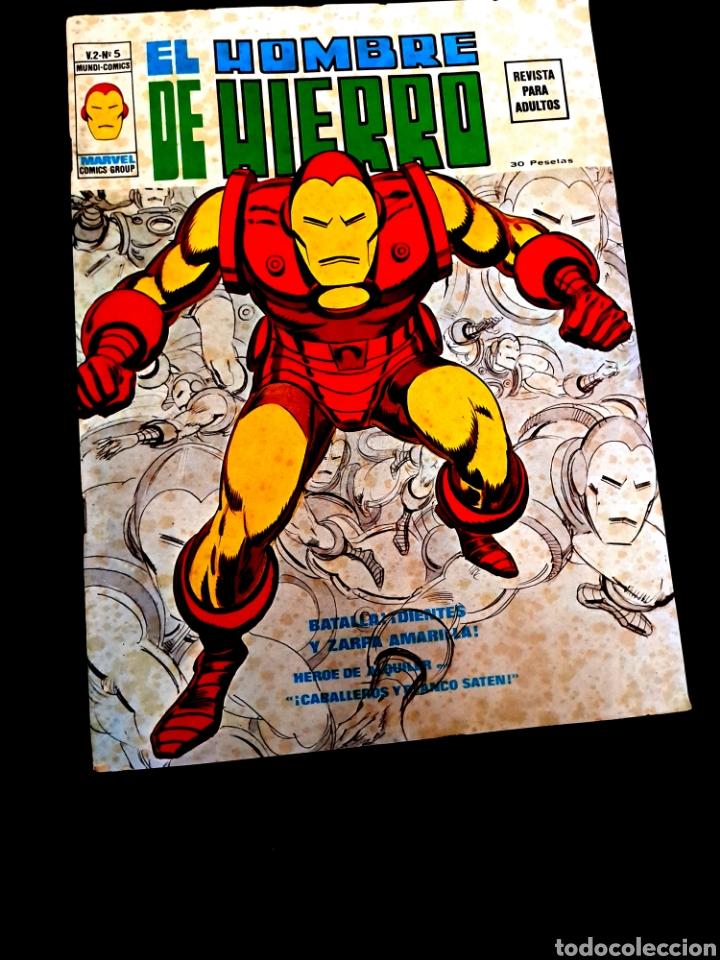 EL HOMBRE HIERRO 5 VOL II VERTICE NORMAL ESTADO (Tebeos y Comics - Vértice - Hombre de Hierro)