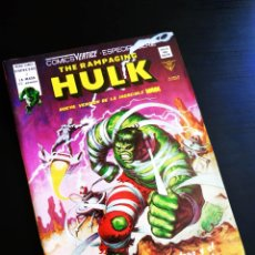 Cómics: CASI EXCELENTE ESTADO THE RAMPAGING HULK 3 VERTICE. Lote 217435937