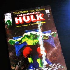 Cómics: CASI EXCELENTE ESTADO THE RAMPAGING HULK 4 VERTICE. Lote 217436026