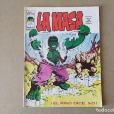 Cómics: LA MASA V 3 Nº 12: EL RINO DICE NO - VERTICE, MUNDI COMICS 1976. Lote 217457041