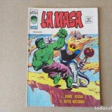 Cómics: LA MASA V 3 Nº 13: DONDE ACECHA EL REPTIL NOCTURNO - VERTICE, MUNDI COMICS 1976. Lote 217459050
