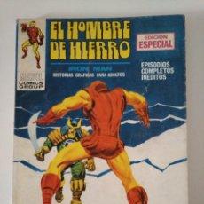 Cómics: VERTICE. IRON MAN EL HOMBRE DE HIERRO N°.13 EL SEÑOR DE LOS MONSTRUOS.. Lote 217510593