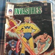 Cómics: LOS INVASORES.COMO SE VE.. Lote 217521030