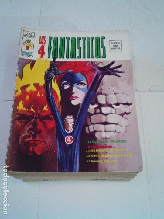 LOS 4 FANTASTICOS - VOLUMEN 2 - VERTICE - COLECCION COMPLETA - MUY BUEN ESTADO - 28 NUMEROS -GORBAUD (Tebeos y Comics - Vértice - 4 Fantásticos)