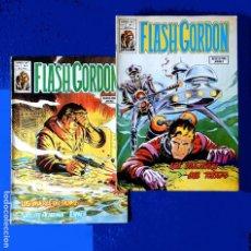 Cómics: FLASH GORDON, LOTE CON DOS; VOL. 2 - Nº 7, Y Nº 8 - COMICS-ART / EDICIONES. VÉRTICE, 1979. ORIGINAL. Lote 217573276