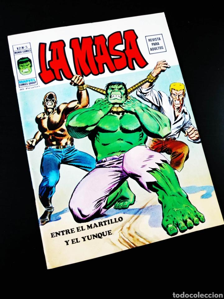 DE KIOSCO LA MASA 5 VOL II VERTICE (Tebeos y Comics - Vértice - La Masa)