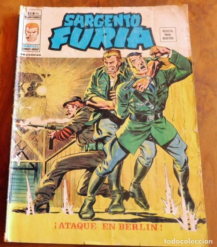 SARGENTO FURIA - VOL.2 Nº 24 (Tebeos y Comics - Vértice - Furia)