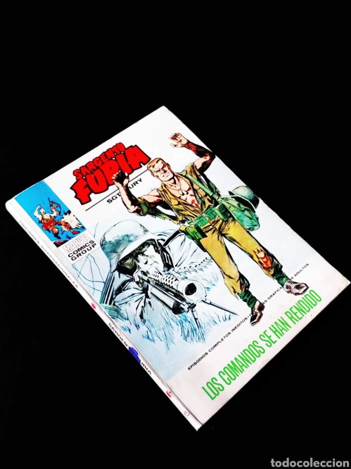 MUY BUEN ESTADO SARGENTO FURIA 15 TACO VERTICE (Tebeos y Comics - Vértice - Furia)