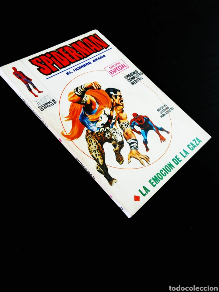 SPIDERMAN 13 MUY BUEN ESTADO PERO TIENE ROCE EN CANTO TACO VERTICE (Tebeos y Comics - Vértice - Otros)