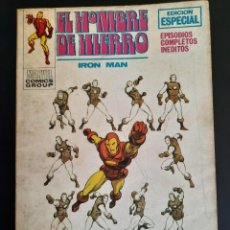 Cómics: IRON MAN (1969, VERTICE) -EL HOMBRE DE HIERRO- 15 · IX-1970 · EL SEÑOR DE LOS ESPIAS. Lote 217994231
