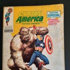 Cómics: CAPITAN AMERICA (1969, VERTICE) 17 · II-1971 · MAS MONSTRUO QUE HOMBRE. Lote 218002172