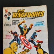 Cómics: VENGADORES, LOS (1969, VERTICE) 16 · XI-1970 · LOS ULTROIDES ATACAN. Lote 218015578