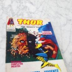 Cómics: THE MIGHTY THOR - Nº 4 - EL PLANETA VIVIENTE - ED. VERTICE - 1970. Lote 218118066