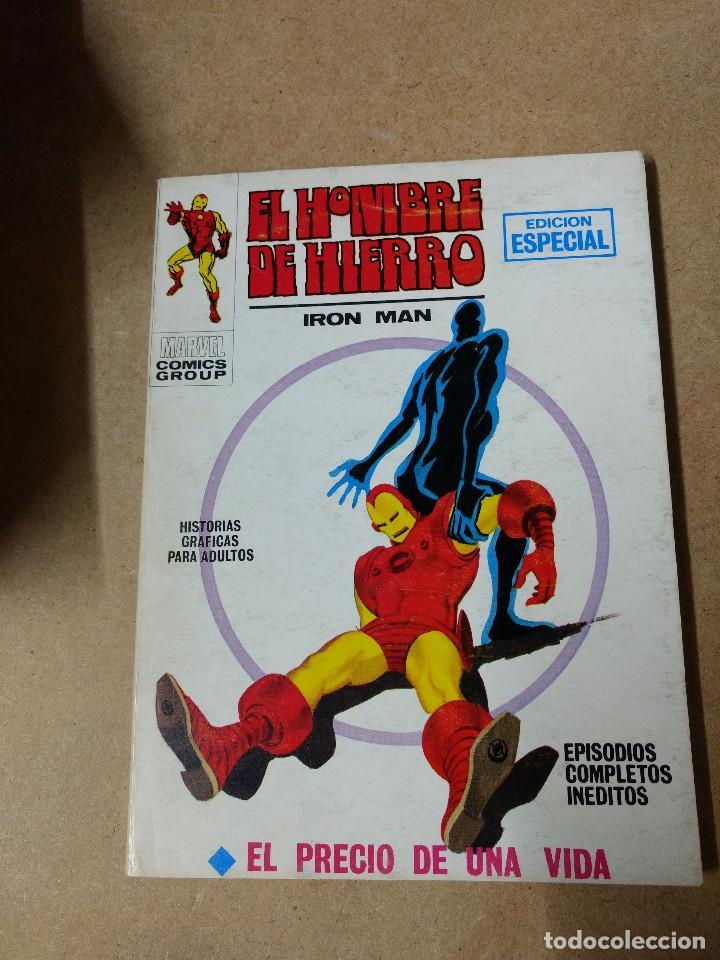IRON MAN -EL HOMBRE DE HIERRO VOL.1 Nº 8 DE 25 PESETAS VÉRTICE 1971 BUEN ESTADO (Tebeos y Comics - Vértice - V.1)