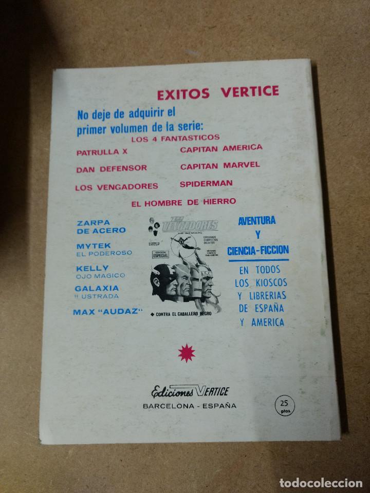 Cómics: IRON MAN -EL HOMBRE DE HIERRO VOL.1 Nº 8 de 25 pesetas VÉRTICE 1971 buen estado - Foto 2 - 218135328