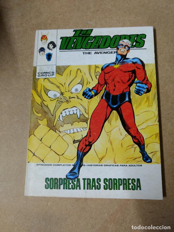 LOS VENGADORES VOL.1 Nº 43 DE 25 PESETAS VÉRTICE 1973 BUEN ESTADO (Tebeos y Comics - Vértice - V.1)
