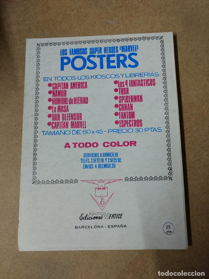 Cómics: LOS VENGADORES VOL.1 Nº 43 de 25 pesetas VÉRTICE 1973 buen estado - Foto 2 - 218135716