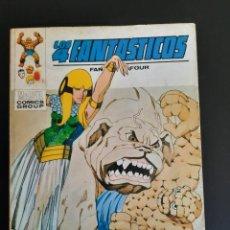 Cómics: 4 FANTASTICOS, LOS (1969, VERTICE) -V.1- 59 · II-1974 · UNIDOS...O MUERTOS. Lote 218146612