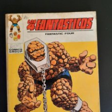Cómics: 4 FANTASTICOS, LOS (1969, VERTICE) -V.1- 45 · XII-1972 · RECLAMO A ESTE ESCLAVO. Lote 218147043