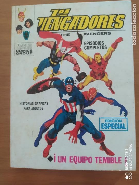 LOS VENGADORES VOL 1 N 2 VÉRTICE ( MUY BUEN ESTADO) (Tebeos y Comics - Vértice - La Masa)