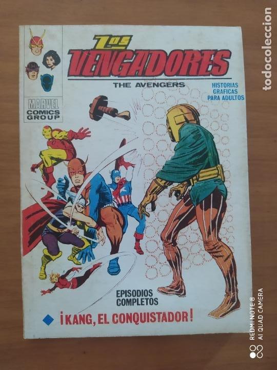 LOS VENGADORES VOL 1 N 4 VÉRTICE ( MUY BUEN ESTADO) (Tebeos y Comics - Vértice - La Masa)