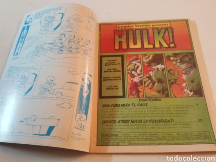 Cómics: Mundi Comics N° 15 The Rampaging Hulk 1980 comics Vertice - Foto 2 - 218246853