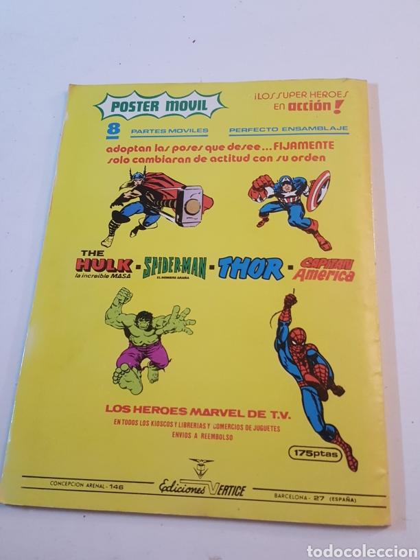 Cómics: Mundi Comics N° 15 The Rampaging Hulk 1980 comics Vertice - Foto 3 - 218246853