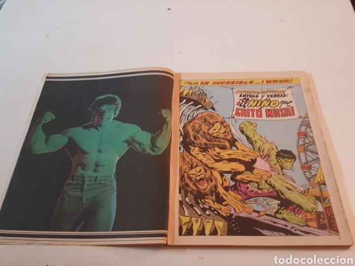 Cómics: Mundi Comics The Rampaging Hulk N° 11 El niño que gritó Masa Vertice 1980 - Foto 3 - 218247086