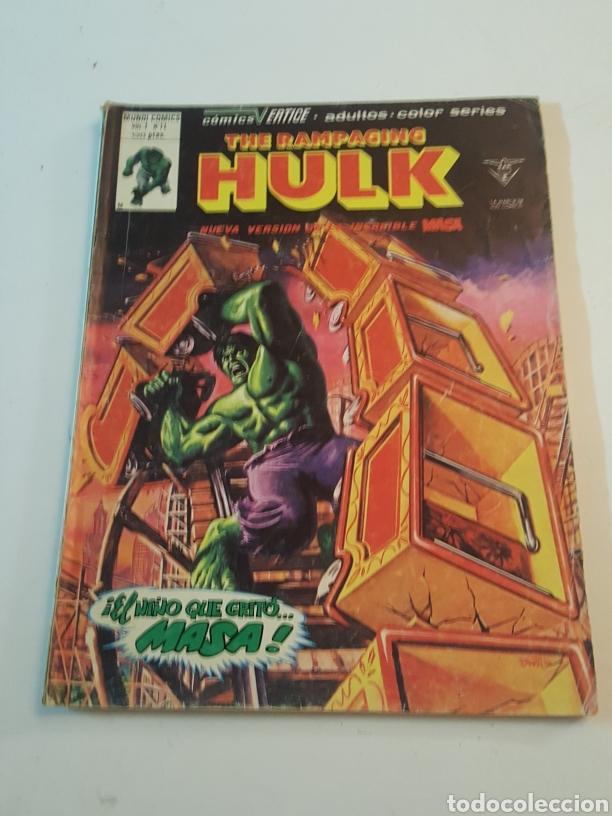 MUNDI COMICS THE RAMPAGING HULK N° 11 EL NIÑO QUE GRITÓ MASA VERTICE 1980 (Tebeos y Comics - Vértice - La Masa)
