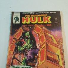 Cómics: MUNDI COMICS THE RAMPAGING HULK N° 11 EL NIÑO QUE GRITÓ MASA VERTICE 1980. Lote 218247086