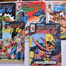 Cómics: LOTE 5 TEBEOS RELATOS SALVAJES JUDO-KARATE KUNG-FU VOL. 2 Nº 1, 2, 4, 5 Y 6. Lote 218275853