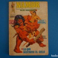 Fumetti: COMIC DE NAMOR SUB-MARINER LO QUE DESTRUYO EL CIELO Nº 19 AÑO 1972 DE TACO VERTICE LOTE 25 A. Lote 218405412