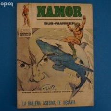 Fumetti: COMIC DE NAMOR LA BALLENA ASESINA, TE DESAFIA Nº 33 AÑO 1973 DE TACO VERTICE LOTE 25 A. Lote 218405972