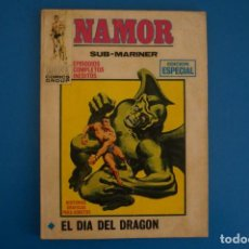 Fumetti: COMIC DE NAMOR EL DIA DEL DRAGON Nº 6 AÑO 1969 DE TACO VERTICE LOTE 25 A. Lote 218407877