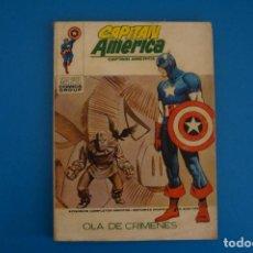 Fumetti: COMIC DE CAPITAN AMERICA OLA DE CRIMENES Nº 29 AÑO 1972 DE TACO VERTICE LOTE 25 B. Lote 218408720