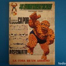Cómics: COMIC DE LOS 4 FANTASTICOS LA COSA ES UN ASESINO Nº 46 AÑO 1972 DE TACO EDICIONES VERTICE LOTE 26 A. Lote 218445377