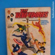 Cómics: COMIC DE LOS VENGADORES TERMINA EL JUEGO Nº 32 AÑO 1972 DE TACO EDICIONES VERTICE LOTE 26 B. Lote 218474900