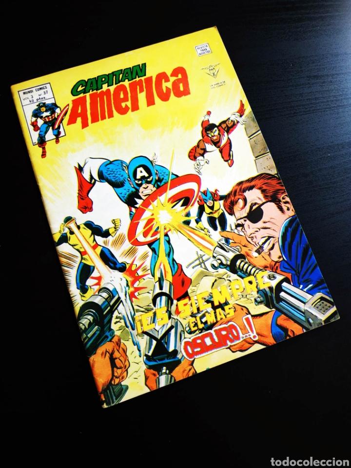MUY BUEN ESTADO CAPITAN AMERICA 37 VOL III VERTICE (Tebeos y Comics - Vértice - Capitán América)