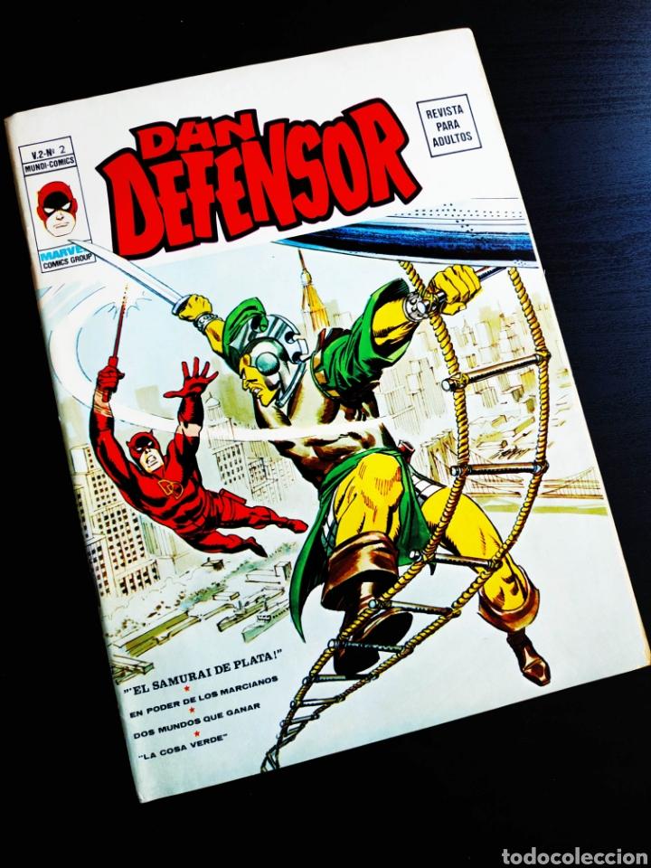 DAN DEFENSOR 2 VOL II MUY NUEVO PERO TIENE CORTES EN PORTADA VERTICE (Tebeos y Comics - Vértice - Dan Defensor)