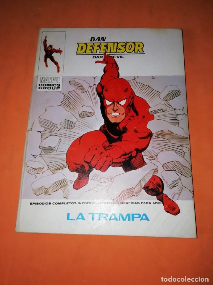 DAN DEFENSOR. VOLUMEN 1 Nº 43. LA TRAMPA. VERTICE TACO (Tebeos y Comics - Vértice - V.1)