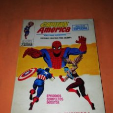 Cómics: CAPITAN AMERICA VOLUMEN 1 . Nº 18. SPIDERMAN MI ENEMIGO. VERTICE TACO. Lote 218618023